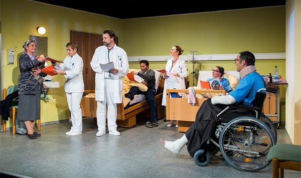 Schängel Theaterstück mit Willi und Ernst in der Kufa